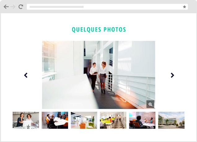Brique IZIT carrousel d'images